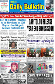 capitol to release year end bonus soon negros daily bulletin capitol to release year end bonus soon