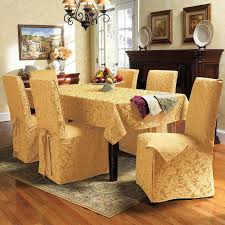 Linen Dining Room Chair Slipcovers Dining Table Chair Covers All Old Homes