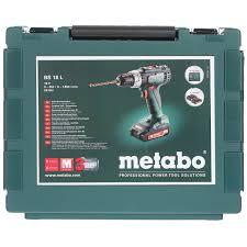 <b>Аккумуляторная дрель-шуруповерт Metabo</b> BS 18 L 602321500 в ...