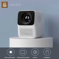 €121 with coupon for Xiaomi Wanbo <b>LCD Projector T2</b> Max 4K Ultra ...