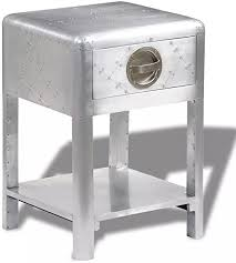 Aviator End Table, Aluminum End Side Table Bedside ... - Amazon.com