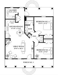 bedroom bath house plans basement