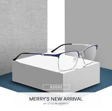 Big Sale #037e - MERRYS DESIGN Men Titanium Alloy Glasses ...