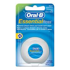 Мятная <b>зубная нить Oral</b>-<b>B Essential</b>