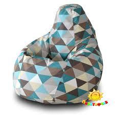 <b>Кресло</b>-<b>мешок</b> Pazitif <b>Груша Пазитифчик Ромб</b> 04, размер XL ...