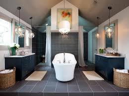 m absolute home bathroom ideas with luxury white round drum shaded chandelier over tubs added transparent globe glass covering pendant lighting fixtures chandeliers glamorous pendant lighting bathroom vanity