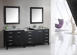 dual vanity bathroom: bathroom large white wooden vanity twin rectangular sink plus