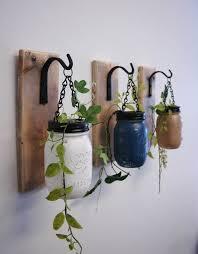 individual hanging diy painted mason jar wall decor in 2014 green leaves wall decor adore diy hanging mason