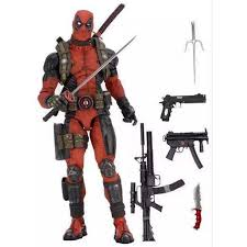 <b>NECA EPIC Marvel Deadpool</b> Ultimate Collector's 1/10 Scale Action ...