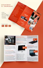 tri fold brochure template 45 word pdf psd eps beautiful computer repair a3 tri fold brochure template computer repair a3trifold brochure