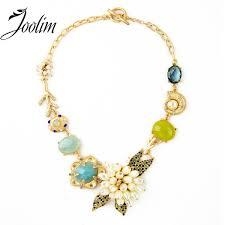 2019 <b>JOOLIM Jewelry</b> Wholesale/ New Luxury Flower Statement ...