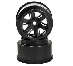 <b>Диски</b> колесные <b>Traxxas X</b>-<b>Maxx</b> Wheel <b>Black</b> 2pcs (TRA7771 ...