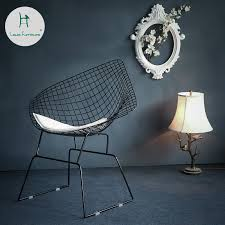 Online Shop <b>Nordic</b> Creative Openwork Barbed Wire Chair ...
