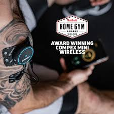 Compex Mini <b>Wireless Electric</b> Muscle Stimulator (<b>EMS</b>) with TENS ...