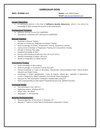 automation tester resume   sales   tester   lewesmrsample resume  software tester resume on testing doc