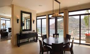 Dining Room Feature Wall Dining Luxury Idea For Elegant Modern Dining Room Style Picture