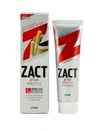 ROZETKA | <b>Зубная паста</b> Lion <b>Zact отбеливающая</b> следы кофе и ...