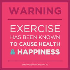 Image result for exercise is the key to been healthy witeup pic