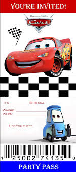 cars ticket invitation template disney party invitation cars ticket invitation template disney party invitation templates