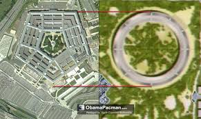 apple cupertino campus mothership plan vs pentagon apple cupertino office