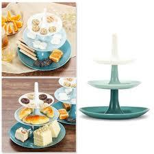 Creative <b>Detachable Three layer</b> Fruit Pastry Storage Tray Holiday ...