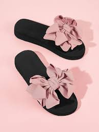 с открытой пальцы ноги Розовый Тапочки | Летняя <b>обувь</b>, Делать ...