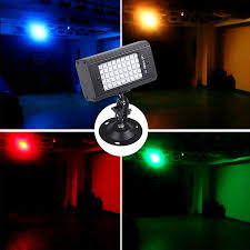 USB 5V 45 LED RGB <b>Strobe</b> Flash <b>Lights Sound</b> Activated Disco DJ ...
