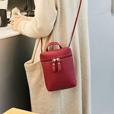 <b>Small Cute Bucket Bag</b> Fashion Women PU Leather <b>Mini</b> Crossbody ...
