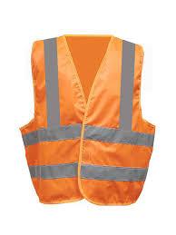 <b>Жилет сигнальный</b>, <b>размер</b> 56-58 (<b>оранжевый</b>, класс защиты 3 ...