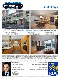 detailed feature sheet or mls listing paper what leaves a 1153 w cordova street two harbour green detailed feature sheet com