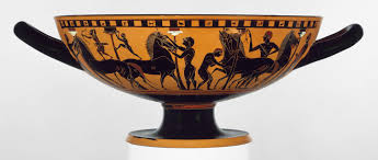 greek art in the archaic period essay heilbrunn timeline of terracotta kylix drinking cup