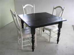small square kitchen table: kitchen amazing small brown wooden square dining table set