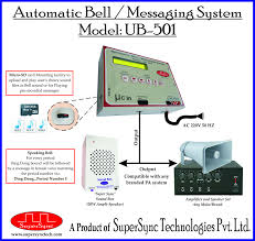 <b>Lcd Electronic Automatic</b> School Bell, Model Name/Number: Ub-501 ...