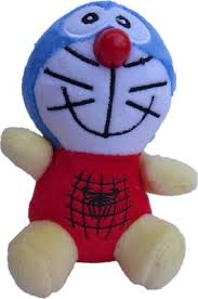 Aarika Soft toy cute Doraemon - <b>10 cm</b>(Multicolor) - buy at the price ...