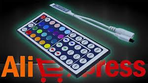 <b>Контроллер</b> для светодиодной <b>RGB</b>-ленты с пультом ДУ на 44 ...