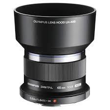 <b>Бленда</b> для объектива <b>Olympus</b> M.Zuiko 45mm 1:1,8 <b>LH</b>-<b>40B для</b> ...