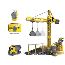 official silverlit online shop i r crane and i r builder truck