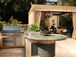 Prefab Outdoor Kitchen Island Modular Outdoor Kitchen Kits Accessories Pictures Ideas Hgtv