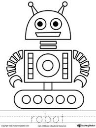 Small Picture Smarty Pants Fun Printables Printable Robot Coloring Page Robot