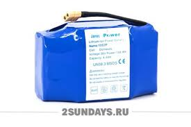 <b>Аккумулятор</b> для гироскутера <b>Janec Power</b> 36V 4400 mAh 158.4 ...