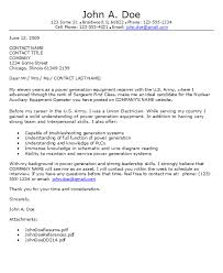 military cover letter military cover letters