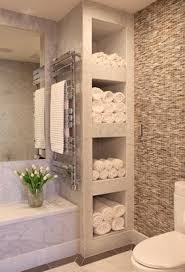 bath ideas: bathroom with shelves for towels love how this feels like a spa could