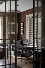 modern art deco office i love the treatment of the glass on the sliding doors art deco office