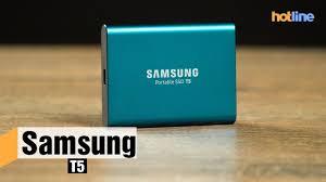 <b>Samsung</b> T5 — обзор портативного <b>SSD накопителя</b> - YouTube