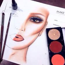 <b>Makeup forever</b> face chart