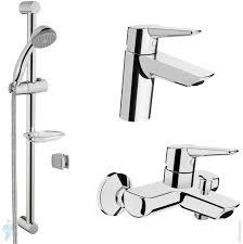 Набор <b>смесителей Vitra Solid</b> S для раковины, ванны/душа ...