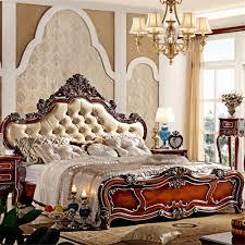 european style luxury king size wooden bedroom furnitureclassic bed bed designs wooden bed