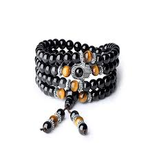 2019 <b>FYJS Unique Silver Plated</b> Hand Connect Tiger Eye Stone 8 ...