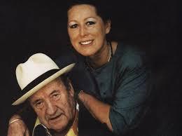 Il Maestro manzù e la moglie Inge