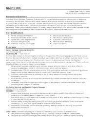 professional customer analytics manager templates to showcase your resume templates customer analytics manager